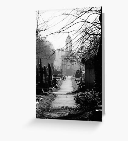 Brompton Cemetery Greeting Card
