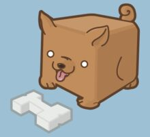 Cube Puppy by japu
