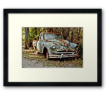 Rusted Relic 2 Framed Print