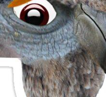 hobo bird Sticker