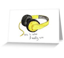 Music is love Greeting Card