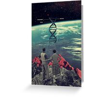 Distance And Eternity Greeting Card
