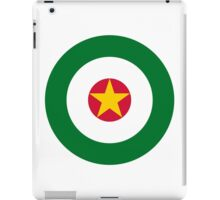 Suriname Air Force - Roundel iPad Case/Skin