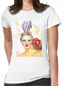 Carmen - A tropical mind Womens Fitted T-Shirt