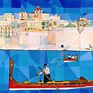 Maltese Boat by Joseph Barbara