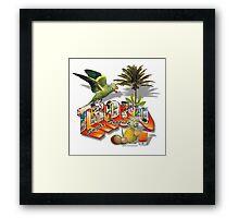 sugar tropics Framed Print
