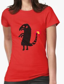 Shitty Charmander Womens Fitted T-Shirt