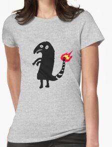 Shitty Charmander Womens Fitted T-Shirt