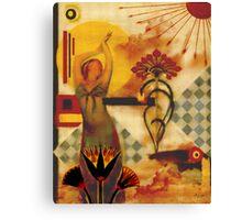 Nouveau Priestess Canvas Print