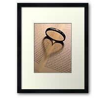 For the love of Photography Framed Print
