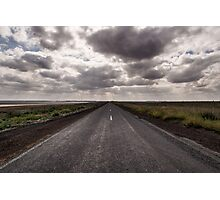 Straight Road Photographic Print