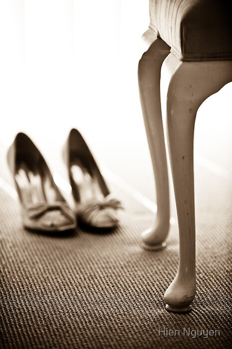 Wedding Shoes by Hien Nguyen