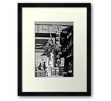 The Deli Framed Print