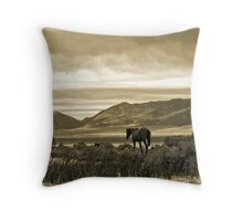 Twilight Pastoral Throw Pillow