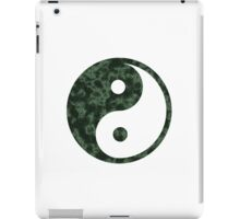 Green Abstract Yin Yang Symbol iPad Case/Skin