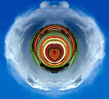 Tiny Planets - Tulip Love by Rhana Griffin