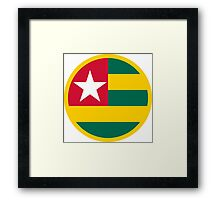Togolese Air Force - Roundel Framed Print