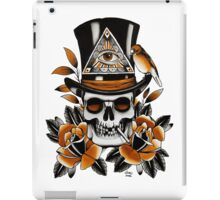 Slash - Skull and Roses iPad Case/Skin