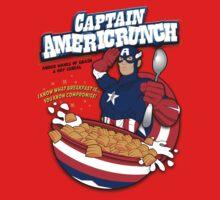 Captain Americrunch One Piece - Short Sleeve
