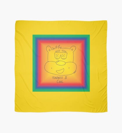 Kindness Is Cool - Rainbow Scarf