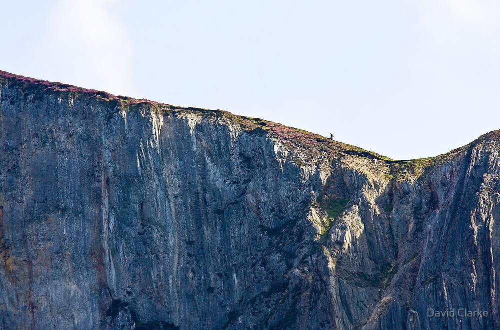 The Solitary Hiker by David Clarke