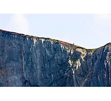 The Solitary Hiker Photographic Print