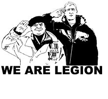 """we are """"in the"""" legion by Holngaz"""
