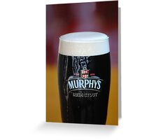 Murphy's Irish Stout Greeting Card