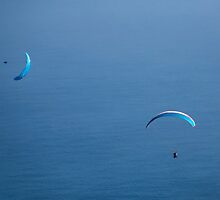 Gliding in My World of Blue by SeeOneSoul