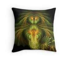 Falkor the Luck Dragon Throw Pillow