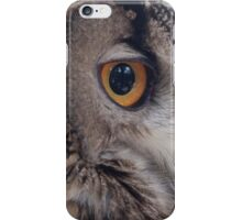 owl in the mountains iPhone Case/Skin