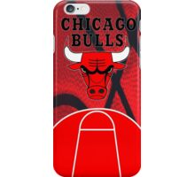 Chicago Bulls Logo Basketball NBA iPhone Case/Skin