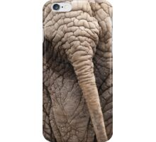 the elephant tail in the jungle iPhone Case/Skin