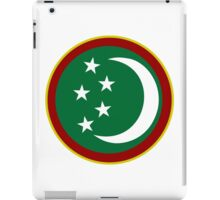 Turkmen Air Force - Roundel iPad Case/Skin