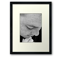 Growing Wise Framed Print