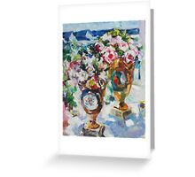 Korovin Roses 2013 (author's copy) Greeting Card