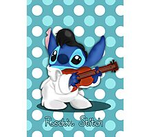 Elvis Stitch Photographic Print
