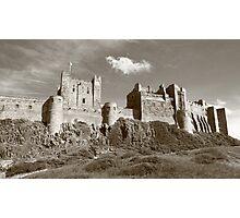 Bamburgh Castle Photographic Print