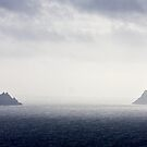 The Skellig Rocks by David Clarke