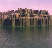 Eroded Island by dmark3