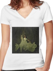 Mistress of decay Women's Fitted V-Neck T-Shirt