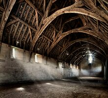 The Tithe Barn by greenbunion