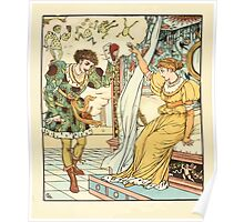 The Frog Prince Walter Crane 1874 18 - At the Transformation Poster
