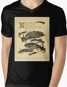 The Buckle My Shoe Picture Book by Walter Crane 1910 52 - Eight Peacocks in the Air Mens V-Neck T-Shirt
