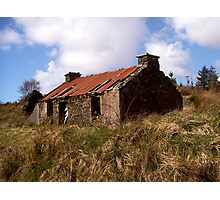 Bygone Croft Photographic Print