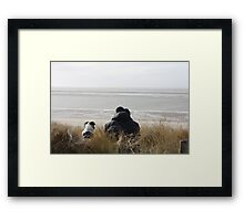 a study of love Framed Print