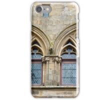 Twin windows at Cordes-sur-Ciel iPhone Case/Skin