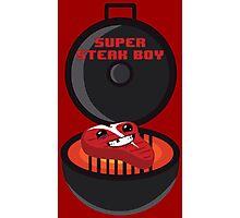 Super Steak Boy Photographic Print