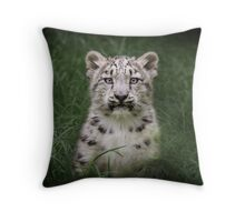 Lost in the Grass Throw Pillow