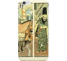 The Forty Thieves by Walter Crane 1898 12 - Finding That Her Husband Did Not Return iPhone Case/Skin